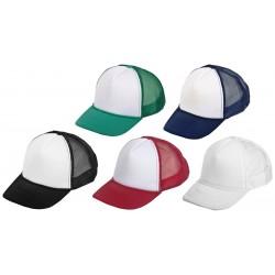 כובע רשת 5 חלקים טרקר