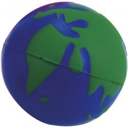 כדור גומי לחיץ בצורת כדור הארץ
