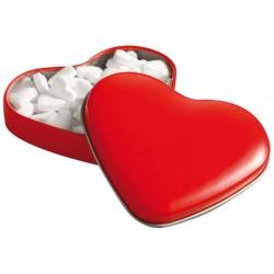 קופסת סוכריות בצורת לב