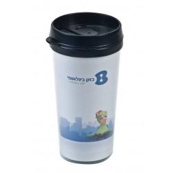 """כוס טרמית מפלסטיק 450 מ""""ל"""