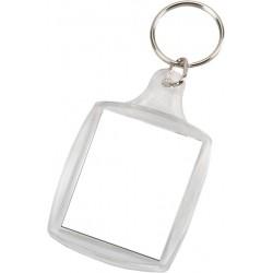 מחזיק מפתחות שקוף  לתמונות