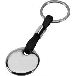 מחזיק מפתחות עם לוחית עגולה