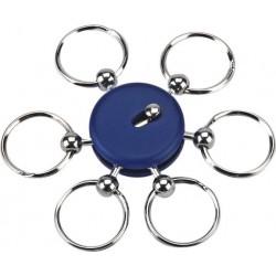 מחזיק מפתחות עם 6 טבעות