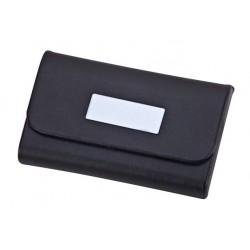 קופסה עם ציפוי דמוי עורלכרטיסי ביקור