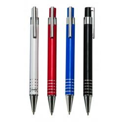 עט כדורי גוף מתכת, גוף צבעוני