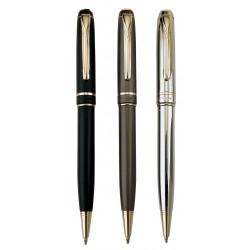 עט כדורי מהודר גימור זהב