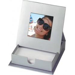קופסה לניירות ממו  עם מסגרת לתמונה