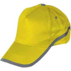 כובע מצחייה עם פס מחזיר אור