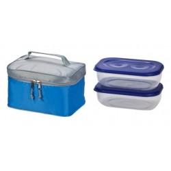 צידנית רכה עם שתי קופסאות לאוכל i-COOL-2