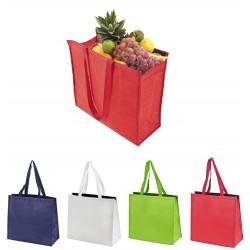 תיק קניות עשוי אל- בד עם פנים אלומיניום לבידוד