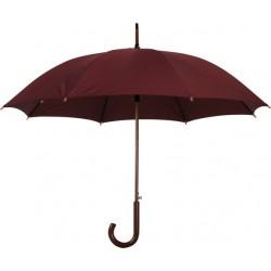 """מטריה """"23, מוט וידית אחיזה מעץ"""