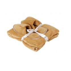 סט מפנק שמיכה ונעלי בית