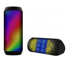 רמקול Bluetooth  תצוגת LED מתחלפת, 7 מצבי תצוגה שונים