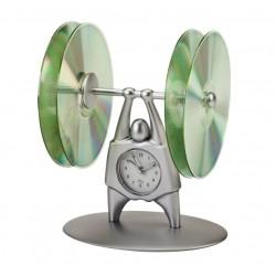 שעון שולחני עם מקום לדיסקים
