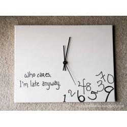 שעון קיר מעץ