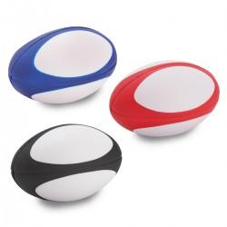 כדור PU לחיץ בצורת כדור רוגבי לשחרור לחצים וסטרס