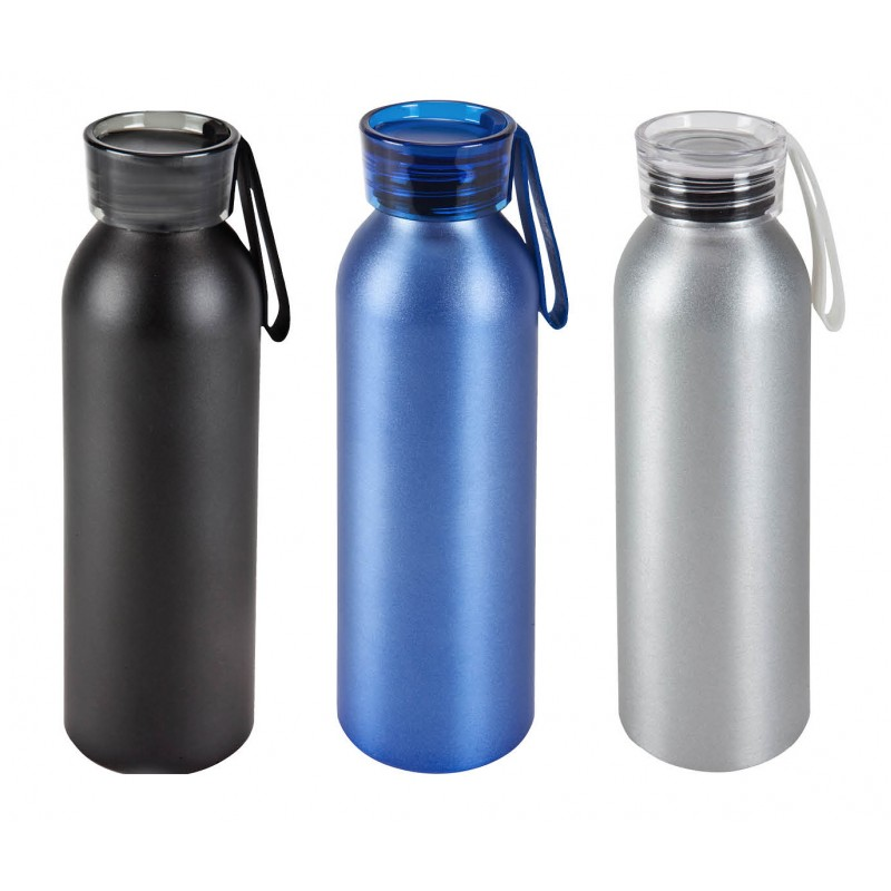 """בקבוק שתיה, גוף אלומיניום לשתייה חמה וקרה 750 מ""""ל."""