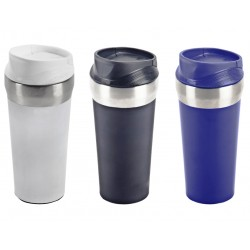 כוס טרמית עם מנגנון יחודי למניעת נפילת הכוס