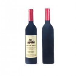 מארז אביזרי יין במעמד בצורת בקבוק