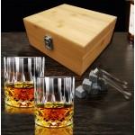סט לשתייה חריפה בקופסת עץ מהודרת