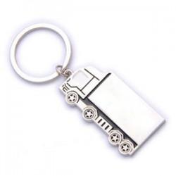 מחזיק מפתחות ממתכת בצורת משאית