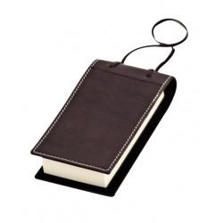 בלוק ניירות, עטיפת עור באריזת מתנה
