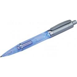 עט כדורי עם תאורה כחולה