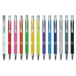 """עט כדורי גוף מתכת עם מילוי ג'ל  0.7 מ""""מ"""