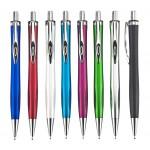 """עט ג'ל, 0.7 מ""""מ עם גוף פלסטי צבעוני"""