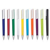 """עט ג'ל 0.7 מ""""מ גוף פלסטי מנגנון לחיצה"""