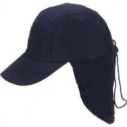 כובע מיקרופייבר עם הגנה לעורף