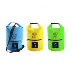 תיק ספורט אטום למים בנפח 5 ליטר