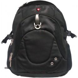 תיק גב למחשב נייד עשויבד ניילון גב אורתופדי מלא