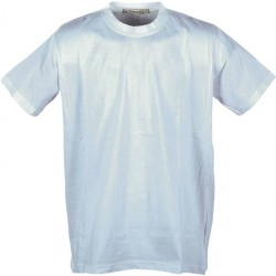 חולצת טריקו לבנה, 100% כותנה
