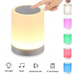 רמקול Bluetooth עם תאורת LED מתחלפת.