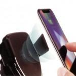 מעמד לטלפון עם טעינה אלחוטית מתאים לשימוש במשרד וברכב